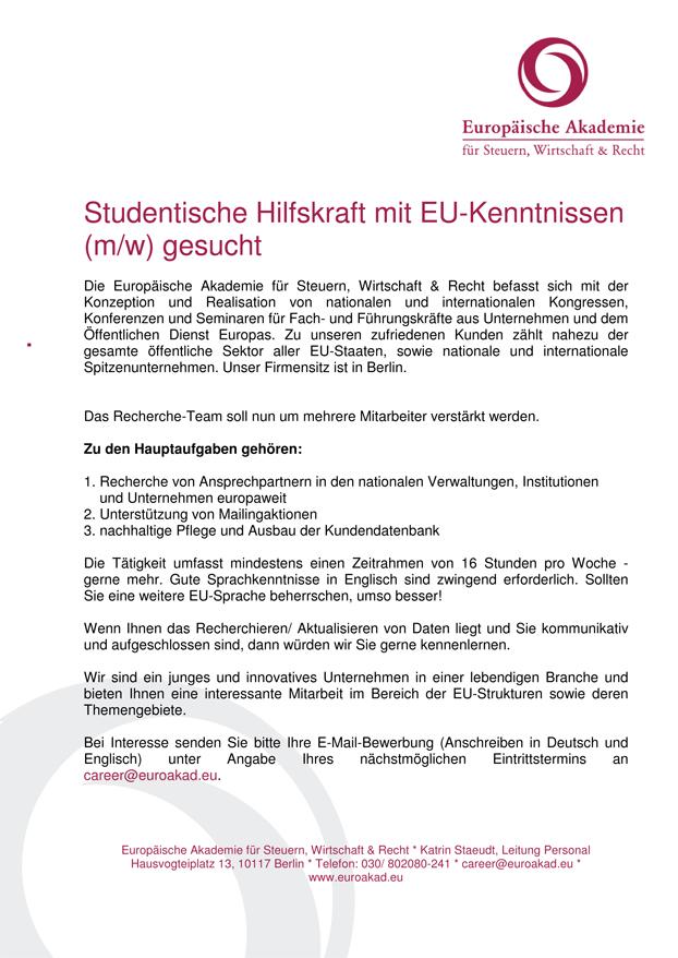 Stipendijos + darbo pasiūlymai – Berlyno lietuvių bendruomenė