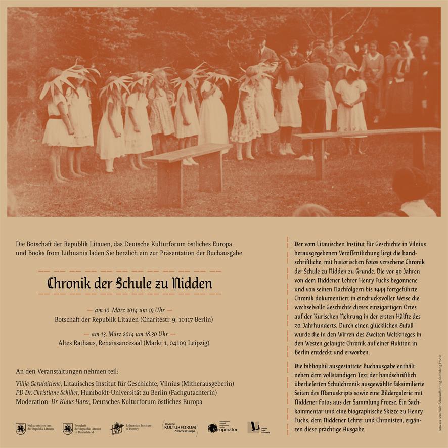 Chronik-der-Schule-zu-Nidden-Einladung