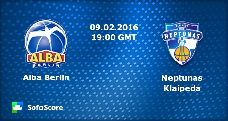 Krepsinio rungtynes ALBA BERLIN vs. Neptunas Klaipeda