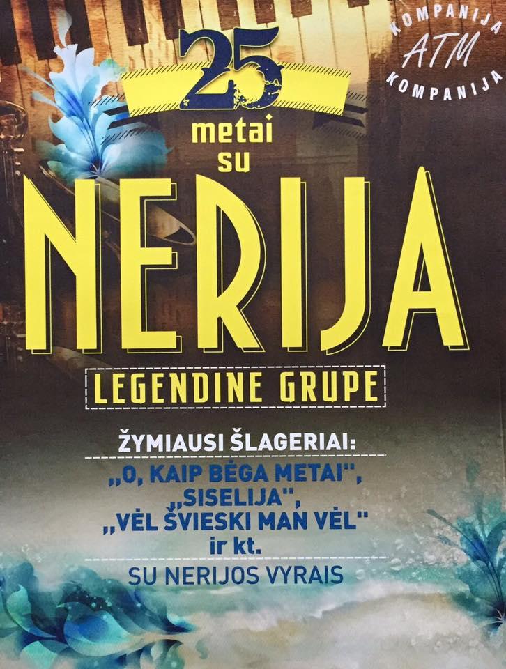 "Legendinės grupės ""Nerija"" koncertas Berlyne lapkričio 18 d."