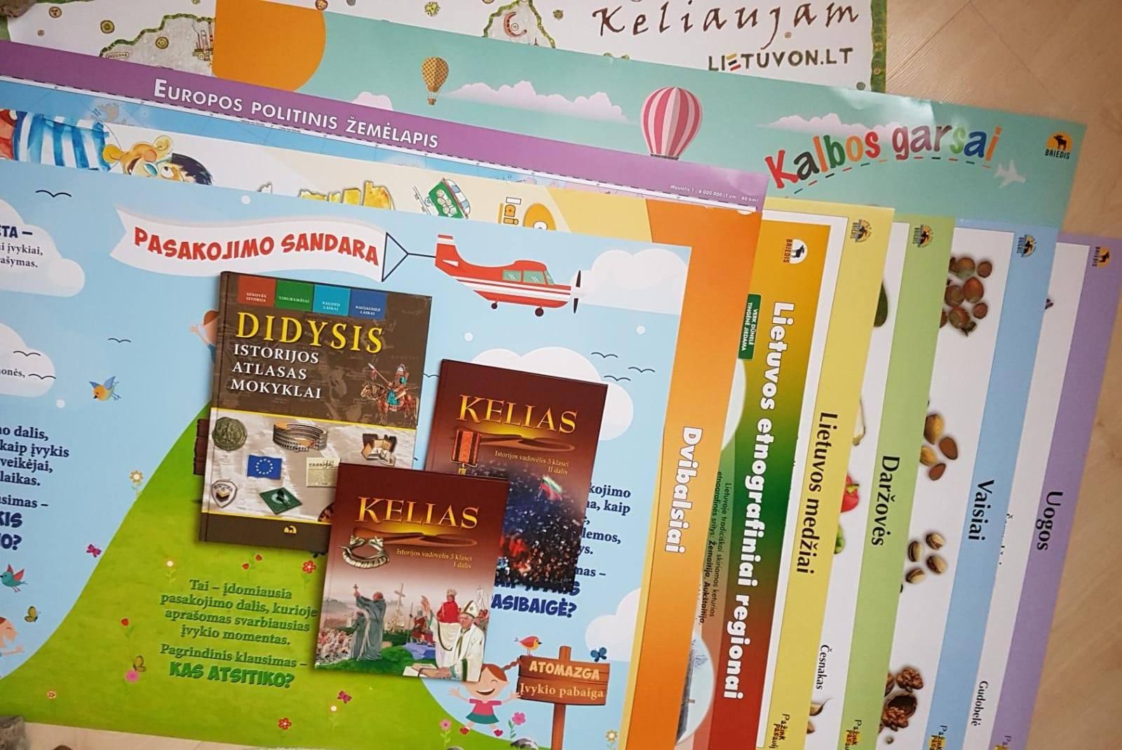 LR Švietimo ir mokslo ministerija skyrė paramą mokyklėlės metodinei bibliotekai